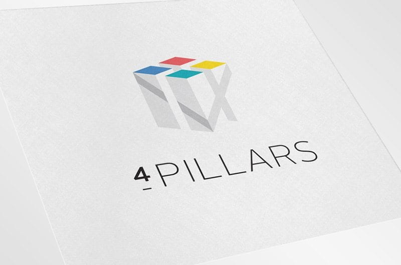 Lexis Nexis 4 Pillars Logo