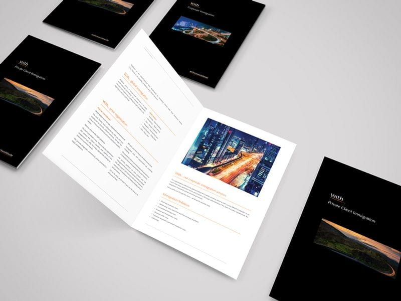 Withers A4 Brochure
