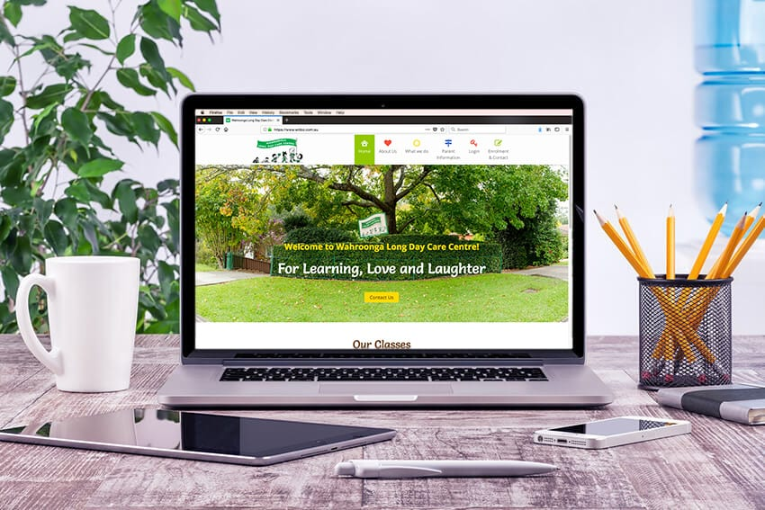 Wahroonga Long Daycare Centre Website