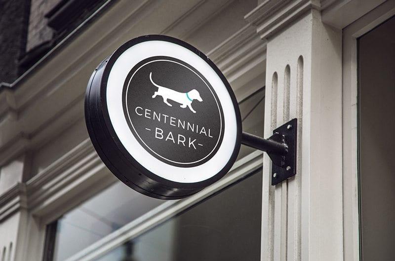 Centennial Bark Logo