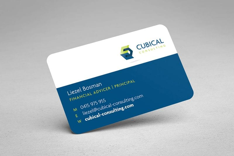 Cubical Consulting Business card
