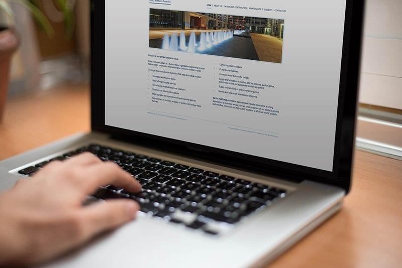 Water Features Australia Website